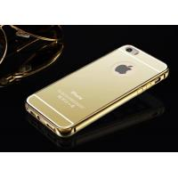 Quality Iphone 6 Luxury Metal Bumper Mirror Back Case Cover for sale