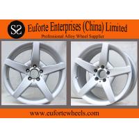 Wholesale 112mm PCD Silver Replica Mercedes Benz Wheel For SLK300L 15'' 16'' 17'' 18'' from china suppliers