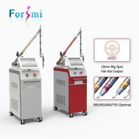 Buy cheap Professional CE FDA approved 10Hz 1064nm 532nm q-switched nd yag laser machine for tattoo removal equipment australia from wholesalers