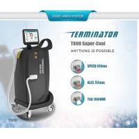 Wholesale 2017 Hottest 810nm 755nm 1064 nm permanent hair removal /skin rejuvenation diode laser machine from china suppliers
