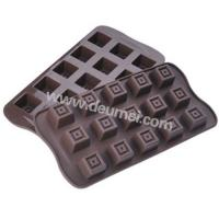Wholesale New Arrival 15 Cavities Food Grade Square Shape Silicone Chocolate Mold from china suppliers