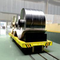 Wholesale Aluminum coil transfer car with V-shape supporting for foundry plant from china suppliers