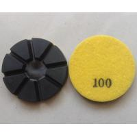 Wholesale 8 Pie Dry Hybrid Concrete Polishing Pads from china suppliers