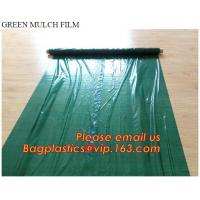 Wholesale Good quality plastic mulch/Greenhouse packaging mulch jumbo rolling agriculture black plastic film from china suppliers