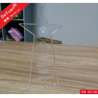 Wholesale Transparent Crystal Acrylic Awards And Plaques PMMA Perspex Plexiglass from china suppliers