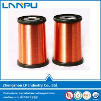 Buy cheap Competitive Price CCA AWG 14 enameled wire class 220 from wholesalers