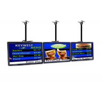 Quality Indoor Commercial LCD Display Restaurant Digital Menu Boards Advertising Player for sale