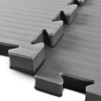 Wholesale High Density Judo mat 1*1m with 40mm black and grey reversible mats 100% EVA from china suppliers