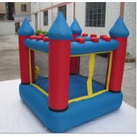 Wholesale Samll Inflatable Bounce House 210d Oxford Fabric Blue And Red from china suppliers