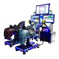 Wholesale 2019 New Style Electronic Gogo Jockey Horse Riding Coin Operated 2 Players Electric Arcade Horse Racing Game Machine from china suppliers