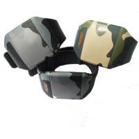 Wholesale PU Case Anti-shock Male Army LED Digit Sport Watch With Stop Watch from china suppliers