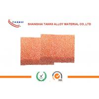 Wholesale 80 PPI 2*500*500mm Copper Matel Foam for filter , Purity 99.99% from china suppliers