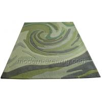 Wholesale Green, Coffee Acrylic Hand Tufted Contemporary Modern Area Rug Abstract Pattern from china suppliers
