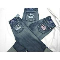 China Rock & Republic Crystal Crown Jeans on sale