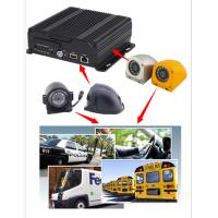 Wholesale 4CH 720P AHD Input Mobile Vehicle DVR Support 4 / 3G WIFI GPS Funtion , Dual SD Card from china suppliers