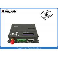 Wholesale 10km COFDM Video Data Link Encryted Wireless Digital Transceiver for UAV / Drone / Quadcopter from china suppliers