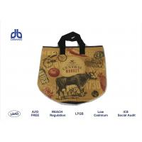 Wholesale GENERAL MARKET RPET Shopping Bags 29cm Diameter * 38cm Height Promotional Grocery Bags from china suppliers