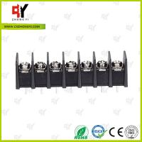 Wholesale 8.0kg Torque Barrier Terminal Block HQ25CB-7.62 2P - 24P Pole 7.62mm Spacing from china suppliers