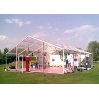 Wholesale 20x30m Steel Structure Material Clear Roof Tent Heavy Duty Sun Resistant from china suppliers