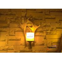 Wholesale Maso Antler Wall Lamp Retro Vintage American Market Hot Sale Residential Hotel Bar Wall Lighting E14 Screw Lamp Base from china suppliers