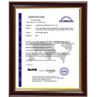 Shenzhen Boyear watch co.,ltd Certifications