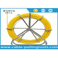 Wholesale 4.5mm 200m Yellow Color Fiberglass Duct Rodder for Cable Laying Project from china suppliers