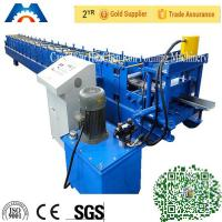 Wholesale Galvanized Steel Iron Door Frame Roll Forming Making Machine PLC Control 18 Stations from china suppliers