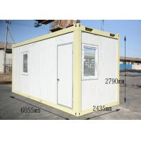 Quality Luxury Mobile Prefab Steel Framed Houses Fireproof with Bathroom for sale