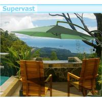 Wholesale 3M Offset Hanging Solar LED Patio Umbrella for Outdoor Leisure Furniture from china suppliers