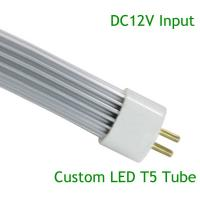 Wholesale Customed LED T5 8W L548mm*∮16mm DC12V 48pcs SMD2835 Aluminum+PC Cover   (GT5-0608AN-02) from china suppliers