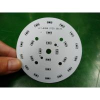 Wholesale High Power Round LED PCB / Aluminum Base PCB White / Black / Blue / Red Solder Mask from china suppliers
