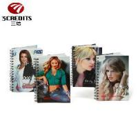 Wholesale A4/A5/B5 Black Double Spiral Notebook, Wire Bound Notebook with Beauty from china suppliers
