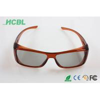 Wholesale OEM / ODM Cinema 3d movie glasses , 45/135 Polarized 3D Eyewear A91 from china suppliers
