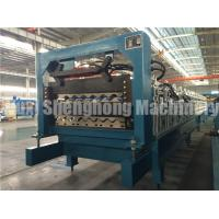Wholesale Galvanized Roofing Sheet Double Deck Roll Forming Machine 16mm from china suppliers