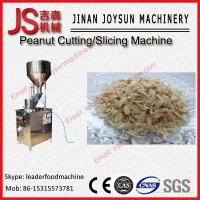 Wholesale High Performance Filbert Peanut Cutting Machine For Cashews, Walnuts from china suppliers
