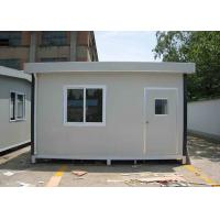 Wholesale Small Japanese Type Modified 20FT Container House , Premanufactured Homes from china suppliers