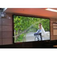 Wholesale Ultrathin 1/26 S RGB HD LED display screen P1.935 480x480mm die casting cabinet from china suppliers