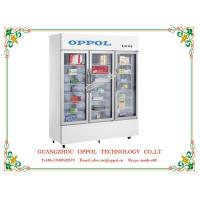 China OP-800 CE Certification R134a Refrigerant Single-temperature Display Cooler on sale
