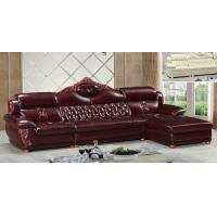 Wholesale A38;  L shape genuine leather sofa, modern home furniture,office furniture, living room furniture, China sofa from china suppliers