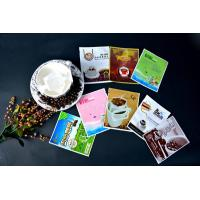 Wholesale small plastic 3 sided delicious coffee bag from china suppliers