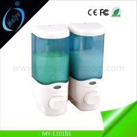 Wholesale double sanitizer dispenser, bathroom lotion dispenser from china suppliers