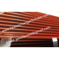 Wholesale Tension Wound Single Row Flat Fin Tube For Air Cooled Condenser from china suppliers
