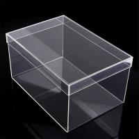 Quality Lucite Shoe Box Transparent Acrylic Sneaker Box for sale