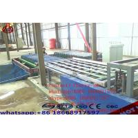 Wholesale Decorative Magnesium Oxide Board Production Line Capacity 2000 Sheets / Shift from china suppliers