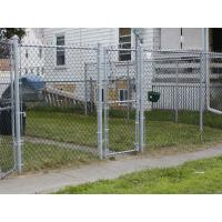 Wholesale ASTM 392 standard chain link fence with 1.2 oz zinc mass from china suppliers