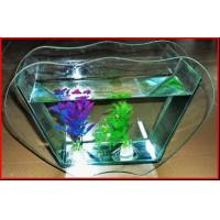 Wholesale Mini Fish Tank Fishdom Desktop Decoration home decoration handwork crafts glass aquarium from china suppliers