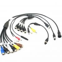 Wholesale Customized Male To Female Backup Camera Extension Cable ROHS / CCC from china suppliers