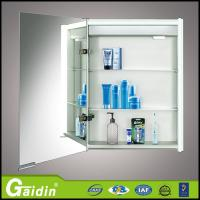 Wholesale quality assurance China supplier aluminum alloy material bathroom furniture bathroom mirror cabinet with LED light from china suppliers