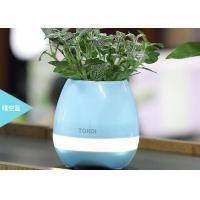 Wholesale Bluetooth Speaker with LED BT Intelligent Smart Touch Music Flowerpot Plant Piano Playing K3 Wireless Singing Flowerpot from china suppliers