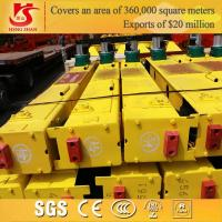 Wholesale 10ton Double girder overhead crane end carriage from china suppliers